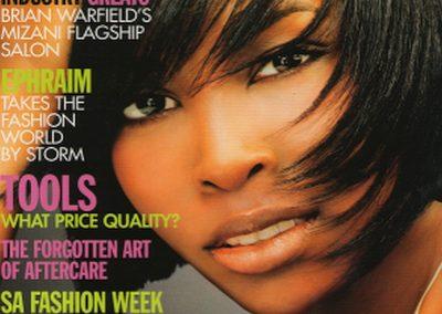 Hair & Beauty Africa Artical, Elma Titus